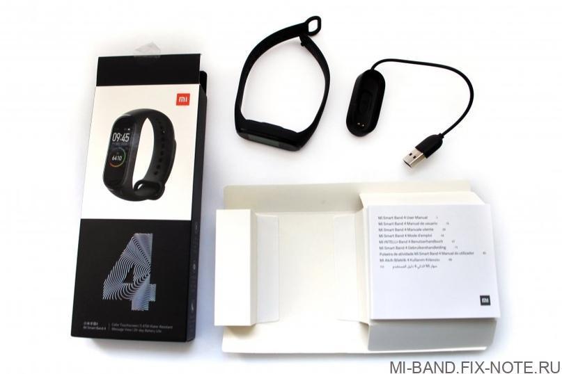 Комплект Mi Band 4
